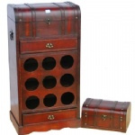 wooden wine rack-001