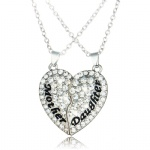 Mother's Day Gift Heart Pendant Necklace Charm