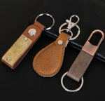 Leather keychain-006