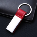 Leather keychain-001