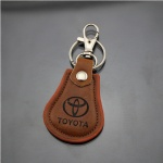 Leather keychain-008