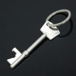 Portable Bottle Openers Key Shaped Bottle Opener Steel Keychain Bottle Opener
