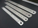 Sewing Foot Sewing 15-30cm Stainless Steel Metal Straight Ruler