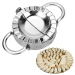 Dumpling Tools Jiaozi Maker Mould Eco-Friendly Pastry Stainless Steel Kitchen Tools Dough Cutter