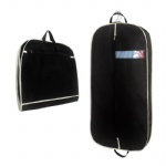 Custom logo Garment Bag Cover Suit Dress Storage Non-woven Breathable Dust Cover Protector Travel Carrier cloth dust cover