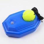 Custom logo Tennis Practice Rebound Ball Elastic Rope Exercise Tennis Ball With Tennis Trainer Baseboard Training Tool Tennis Trainer