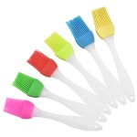 Custom Logo Silicone Pastry Brush Baking Bakeware BBQ Cake Pastry Bread Oil Cream Basting Tools
