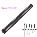 Magnetic Knife Holder Wall Mount Black ABS metal Knife For Placstic Block Magnet Knife Holder
